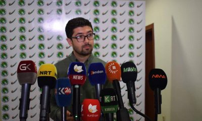 المتحدث باسم مؤسسة الانتخابات في الاتحاد الوطني الكردستاني بريار رشيد