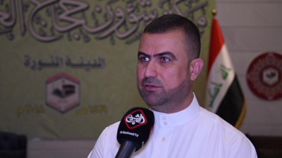 حسن الكناني / المتحدث الرسمي باسم بعثة الحج العراقية