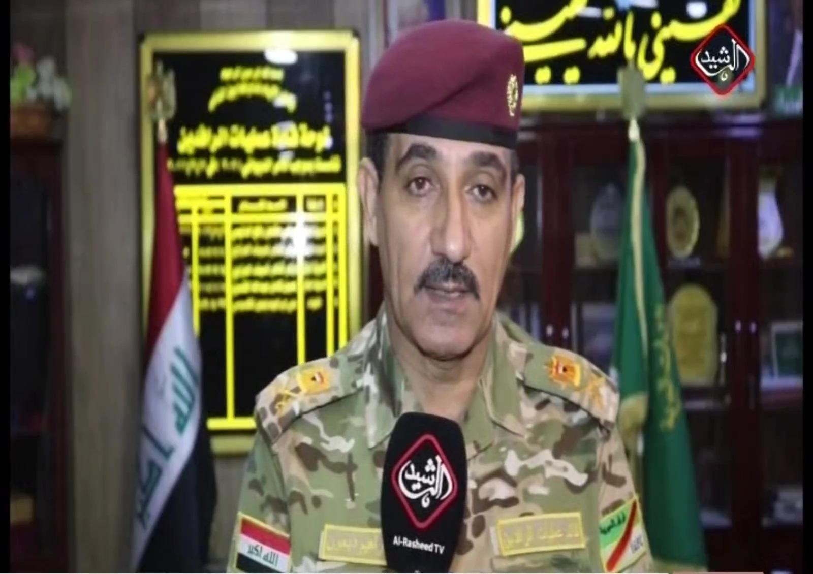 اللواء ابراهيم دبعون / قائد عمليات الرافدين
