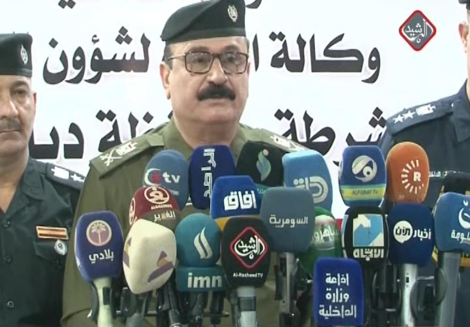 اللواء فيصل العبادي / قائد شرطة ديالى