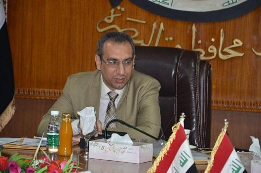رئيس لجنة التخطيط في مجلس محافظة البصرة نشأت المنصوري