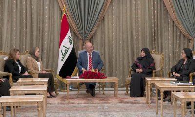 الرئيس صالح - قانون مناهضة العنف الأسري