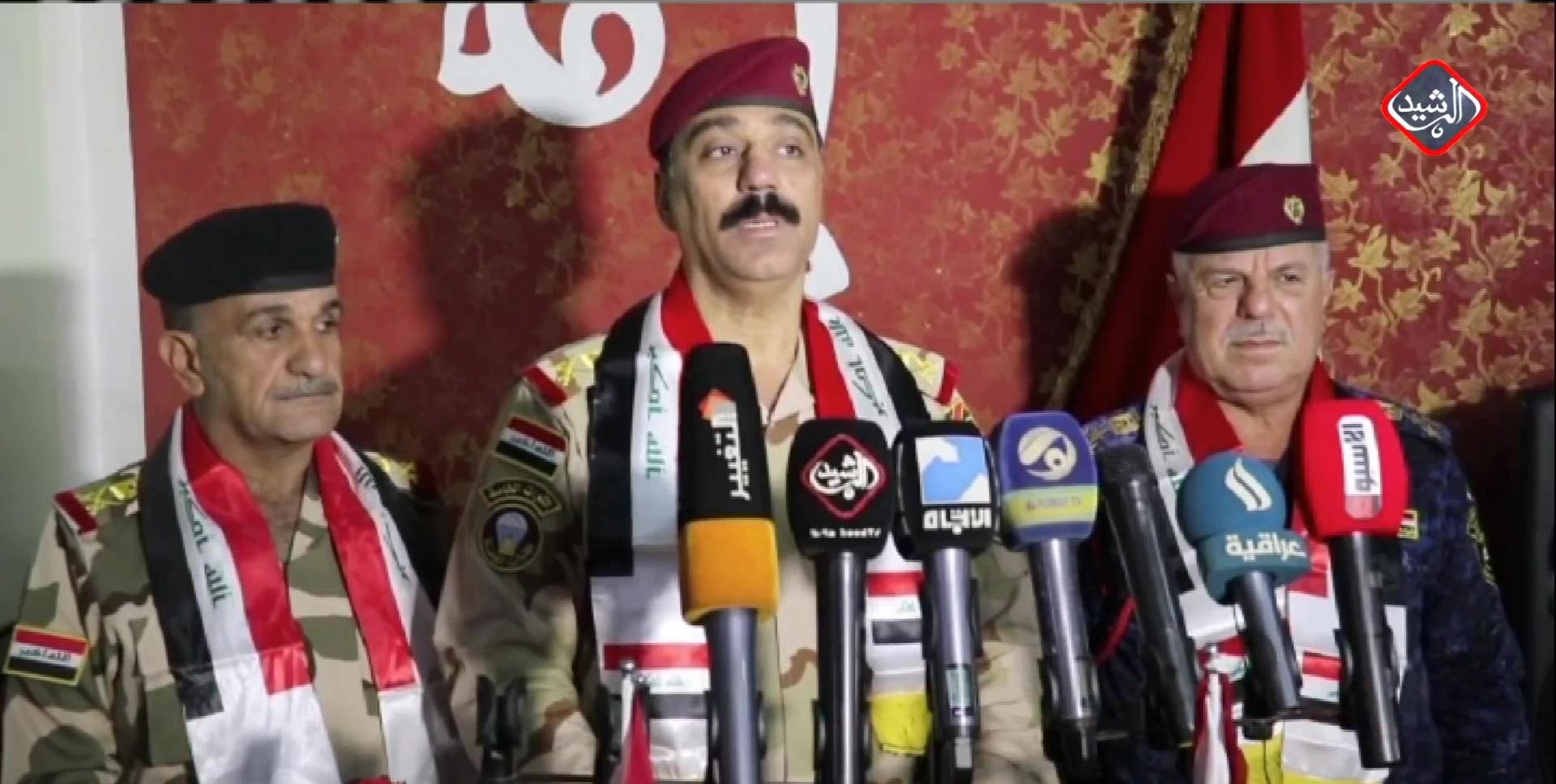 اللواء الركن عماد الزهيري / قائد عمليات سامراء