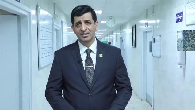 المدير العام لدائرة صحة بغداد الكرخ الدكتور جاسب لطيف الحجامي