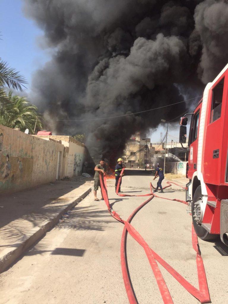 احتراق 3 مولدات ومقتل صاحبها بضباط الاعظمية