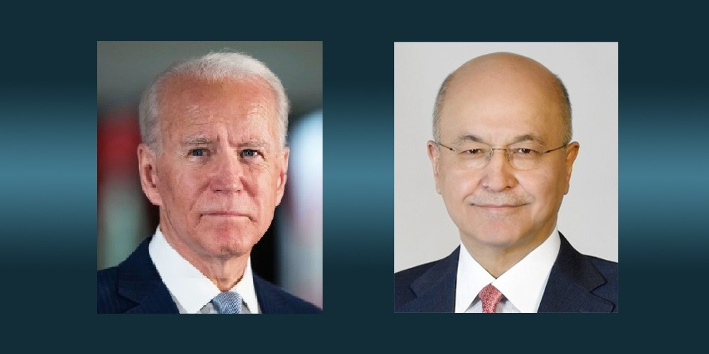 The President of the Republic congratulates Joe Biden on his inauguration as President of the United States of America 089-