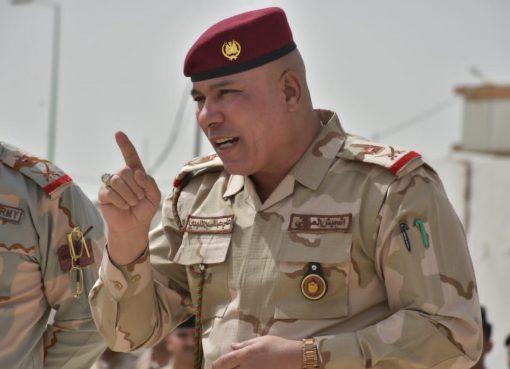 قائد عمليات البصرة، اللواء الركن علي الماجدي