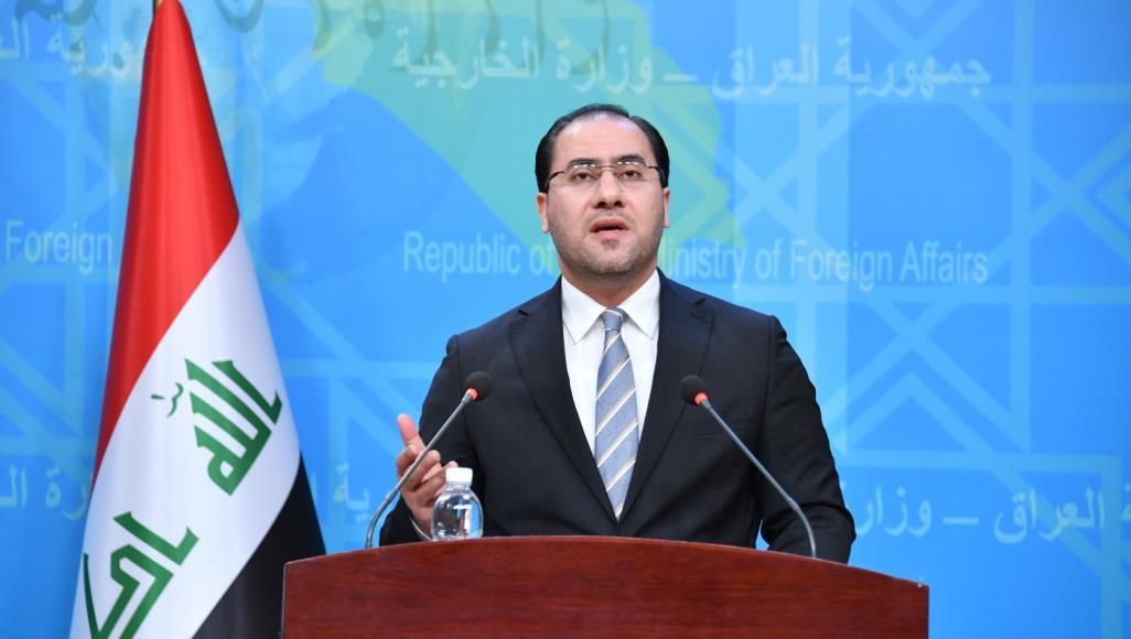 المتحدث باسم الخارجية احمد الصحاف